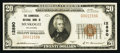 National Bank Notes:Oklahoma, Muskogee, OK - $20 1929 Ty. 1 The Commercial NB Ch. # 12890. ...