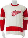 Hockey Collectibles:Uniforms, Mid to Late 1970's Detroit Red Wings Game Worn Jersey....