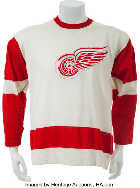 38780bec7 Mid to Late 1970 s Detroit Red Wings Game Worn Jersey.... Hockey ...