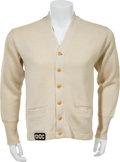 Boxing Collectibles:Memorabilia, 1950's Joey Maxim Cornerman's Jacket/Sweater Worn by His Manager....