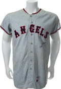 Baseball Collectibles:Uniforms, 1969 Hoyt Wilhelm Game Worn California Angels Jersey....