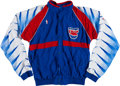 Basketball Collectibles:Uniforms, 1988-94 New Jersey Nets Game Worn Warm Up Suit With Jayson WilliamsLot of 2. ...