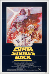 """The Empire Strikes Back (20th Century Fox, R-1981). One Sheet (27"""" X 41""""). Science Fiction"""