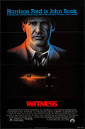 "Movie Posters:Thriller, Witness (Paramount, 1985). One Sheet (27"" X 41"") Flat Folded. Thriller.. ..."
