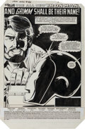 Original Comic Art:Splash Pages, Don Perlin and Steve Mitchell Iron Man #188 Page 1 OriginalArt (Marvel, 1984)....