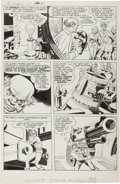 Original Comic Art:Panel Pages, Jack Kirby The Double Life of Private Strong #1 Story Page 6Original Art (Archie, 1959)....