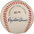 "Autographs:Baseballs, Roger ""Doc"" Cramer Single Signed Baseball...."