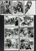 "Movie Posters:War, Kelly's Heroes (MGM, 1970). Photos (9) (8"" X 10""). War.. ...(Total: 9 Items)"