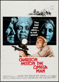 "Movie Posters:Science Fiction, The Omega Man & Other Lot (Warner Brothers, 1971). One Sheets (2) (27"" X 37.5"" & 27"" X 41""). Science Fiction.. ... (Total: 2 Items)"
