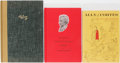 Books:Americana & American History, [Carl Hertzog]. Group of Three Books Published by Hertzog, TwoInscribed. William Farah and Three Dimensional Poear... (Total: 3 Items)
