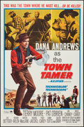 "Movie Posters:Western, Town Tamer & Other Lot (Paramount, 1965). One Sheets (2) (27"" X 41""). Western.. ... (Total: 2 Items)"