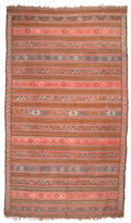 Textiles, A KILIM WOOL RUG. 20th century. 116 x 65-1/2 inches (294.6 x 166.4 cm). The Elton M. Hyder, Jr. Charitable and Educational...