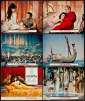 "Movie Posters:Historical Drama, Cleopatra (20th Century Fox, 1963). Title Lobby Card and LobbyCards (5) (11"" X 14""). Historical Drama.. ... (Total: 6 Items)"