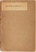 Books:Literature 1900-up, H. G. Wells. The King Who Was a King. Benn, 1929. Advancereading copy in plain wrappers. Rubbing and toned with rea...
