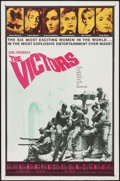 "Movie Posters:War, The Victors & Other Lot (Columbia, 1963). One Sheets (2) (27"" X41""). War.. ... (Total: 2 Items)"
