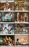 "Movie Posters:Rock and Roll, The Rocky Horror Picture Show (20th Century Fox, 1975). Mini LobbyCard Set of 8 (8"" X 10""). Rock and Roll.. ... (Total: 8 Items)"
