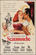 """Movie Posters:Swashbuckler, Scaramouche (MGM, 1952). One Sheet (27"""" X 41""""). Swashbuckler.. ..."""