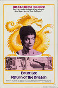 "Movie Posters:Action, Return of the Dragon (Bryanston, 1974). One Sheet (27"" X 41""). Action.. ..."