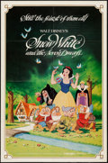 """Movie Posters:Animation, Snow White and the Seven Dwarfs (Buena Vista, R-1983). One Sheet(27"""" X 41""""). Animation.. ..."""