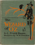 Books:Children's Books, L. Frank Baum. The New Wizard of Oz. Donohue, 1913. Thirdedition, first state. Light rubbing to corners. Hinges cra...