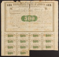 Confederate Notes:Group Lots, Ball 6 Cr. 7 $500 1861 Bond Fine-Very Fine.. ...