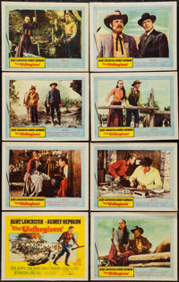 """The Unforgiven (United Artists, 1960). Lobby Card Set of 8 (11"""" X 14""""). Western. ... (Total: 8 Items)"""