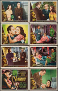 "Movie Posters:Drama, A Woman's Vengeance (Universal International, 1948). Lobby Card Set of 8 (11"" X 14""). Drama.. ... (Total: 8 Items)"