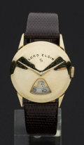 Timepieces:Wristwatch, Lord Elgin Gold Filled Direct Read Wristwatch. ...