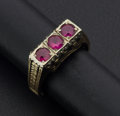 Estate Jewelry:Rings, Early Ruby & Gold Ring. ...