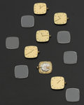 Timepieces:Other , Six Pieces Of Movado Movements & Dials. ... (Total: 6 Items)