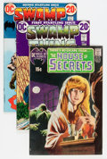 Bronze Age (1970-1979):Horror, Swamp Thing Group (DC, 1971-73) Condition: Average VG.... (Total: 7Comic Books)