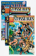 Modern Age (1980-Present):Miscellaneous, Rocketeer-Related Group (Various Publishers, 1967-83) Condition: Average NM-.... (Total: 5 Comic Books)