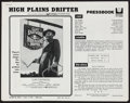 """Movie Posters:Western, High Plains Drifter & Others Lot (Universal, 1973). Cut & Uncut Pressbooks (12) (Multiple Pages, Various Sizes) & Photo (8"""" ... (Total: 12 Items)"""