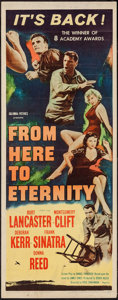 "Movie Posters:Academy Award Winners, From Here to Eternity (Columbia, R-1958). Insert (14"" X 36"").Academy Award Winners.. ..."