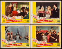 """Gentlemen Prefer Blondes (20th Century Fox, 1953). Lobby Cards (4) (11"""" X 14""""). Musical. ... (Total: 4 Items)"""