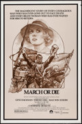 """Movie Posters:War, March or Die (Columbia, 1977). One Sheet (27"""" X 41""""). War.. ..."""