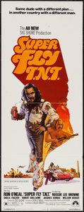 "Movie Posters:Blaxploitation, Super Fly T.N.T. (Paramount, 1973). Insert (14"" X 36"").Blaxploitation.. ..."