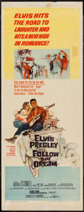 "Movie Posters:Elvis Presley, Follow That Dream (United Artists, 1962). Insert (14"" X 36""). ElvisPresley.. ..."