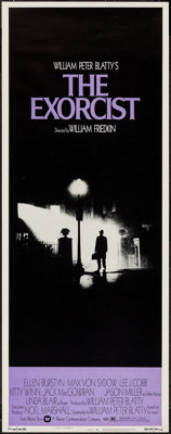 """The Exorcist (Warner Brothers, 1974). Insert (14"""" X 36""""). Horror"""