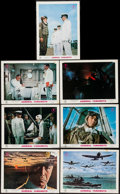 """Movie Posters:War, Admiral Yamamoto (Toho, 1968). Japanese Lobby Cards (7) (10.75"""" X14.5""""). War.. ... (Total: 7 Items)"""