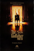 """Movie Posters:Crime, The Godfather Part III (Paramount, 1990). One Sheet (27"""" X 41"""") SS Advance. Crime.. ..."""