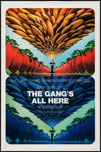 """The Gang's All Here (20th Century Fox, R-1970s). One Sheet (27"""" X 41""""). Musical"""