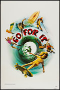 """Movie Posters:Documentary, Go For It (World Entertainment, 1976). One Sheet (27"""" X 41""""). Documentary.. ..."""
