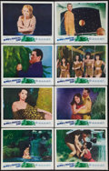 """Movie Posters:Science Fiction, Women of the Prehistoric Planet (Realart, 1966). Lobby Card Set of8 (11"""" X 14""""). Science Fiction.. ... (Total: 8 Items)"""