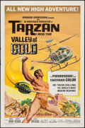 "Movie Posters:Adventure, Tarzan and the Valley of Gold & Others Lot (AmericanInternational, 1966). One Sheets (2) (27"" X 41"") & Color Photo(8"" X 10... (Total: 3 Items)"