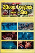 "Movie Posters:Science Fiction, 20,000 Leagues Under the Sea (Buena Vista, R-1963). One Sheet (27"" X 41"" Style B. Science Fiction.. ..."