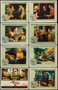 """Movie Posters:War, The Young Lions (20th Century Fox, 1958). Lobby Card Set of 8 (11""""X 14""""). War.. ... (Total: 8 Items)"""