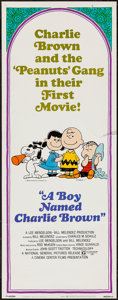 """Movie Posters:Animation, A Boy Named Charlie Brown (National General, 1970). Insert (14"""" X36""""). Animation.. ..."""