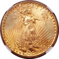 Saint-Gaudens Double Eagles, 1924 $20 MS67 NGC....