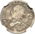 Early Half Dimes, 1792 H10C Half Disme, Judd-7, Pollock-7, R.4 -- Damaged -- NGCDetails. VG....